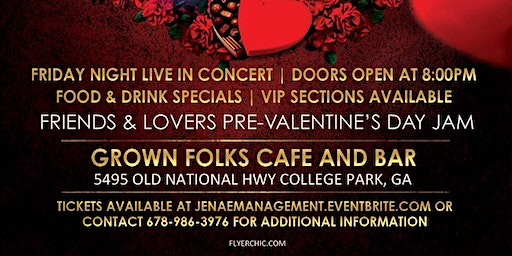 Tony Terry & SUNSHINE ANDERSON LIVE @GROWNFOLKS