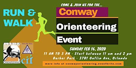 Conway Orienteering Event tickets