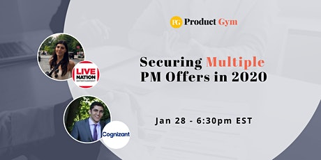 Securing Multiple Product Manager Offers w/ Live Nation & Cognizant PMs tickets