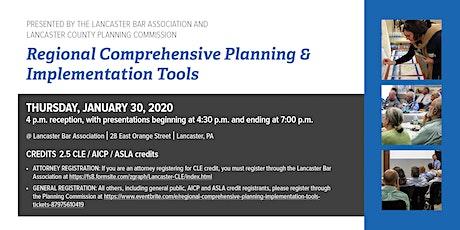 Regional Comprehensive Planning  & Implementation Tools tickets