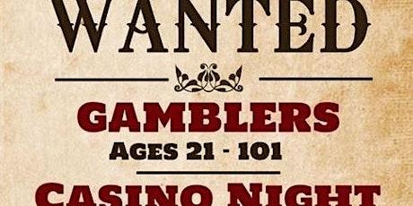 10th Annual Casino Night billets