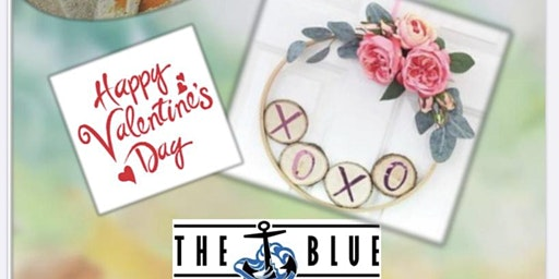 Paint & Create a Valentine Wreath