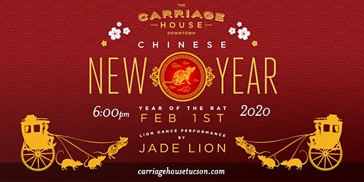 Chinese New Year Dinner @ The Carriage House