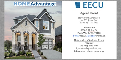 EECU HomeAdvantage Agent & Mortgage Team Networking Event