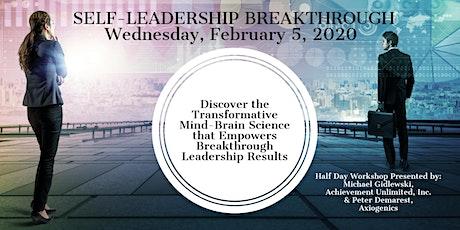 SELF-LEADERSHIP BREAKTHROUGH Workshop tickets
