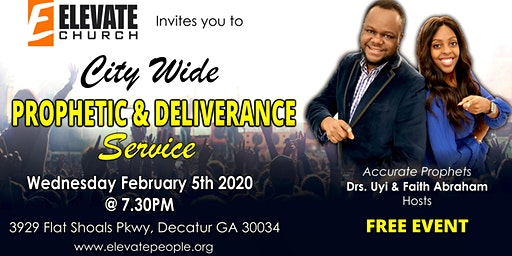 Prophetic and Deliverance Service