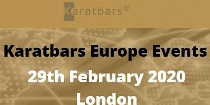 London LIVE Karatbars Europe Event