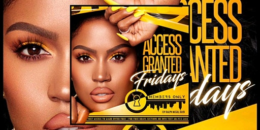 MEMBERS ONLY LOUNGE: ACCESS FRIDAYS | FREE ENTRY | FREE BDAY PACKAGES