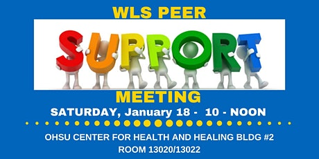 WLS PEER SUPPORT MEETING - JAN 18, 2020 tickets