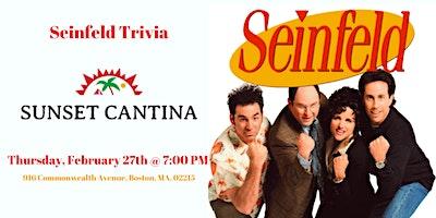 Seinfeld Trivia at Sunset Cantina