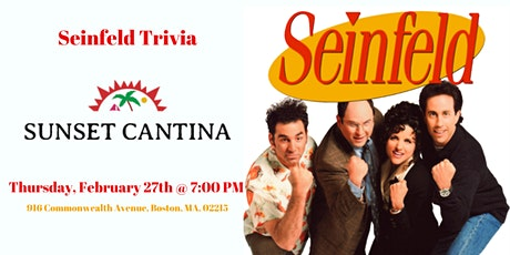 Seinfeld Trivia at Sunset Cantina tickets
