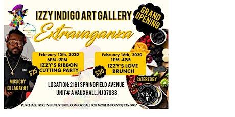 Izzy Indigo Art Gallery Grand Opening EXTRAVAGANZA tickets