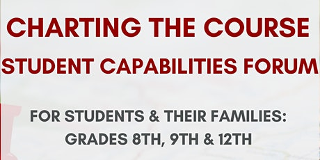 Charting the Course Capabilities Forum tickets