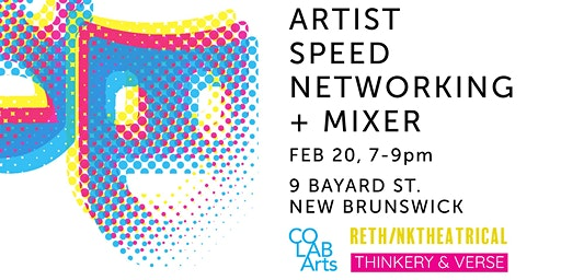 Artist Speed Networking + Mixer