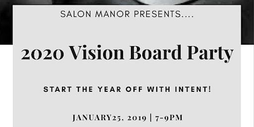 Salon Manor Vision Board Party