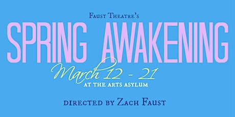 Spring Awakening by Faust Theatre tickets