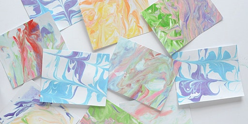 Make Herstory: DIY Marbled Card Making - Woodfield