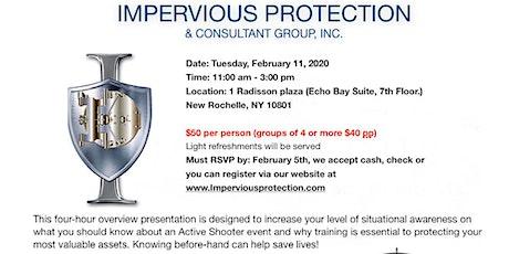ACTIVE SHOOTER AWARENESS PRESENTATION tickets