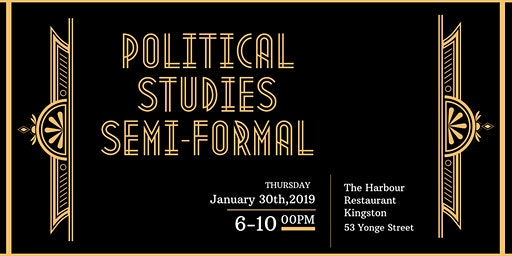 Political Studies DSC Semi-Formal Dinner