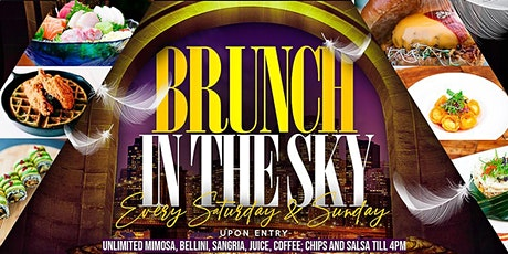 BRUNCH IN THE SKY AND ROOFTOP DAY PARTY - EVERY SATURDAY & SUNDAY tickets