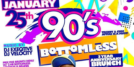 90s Bottomless Brunch & Day Party Experience