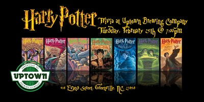 Harry Potter Books Trivia at Uptown Brewing Company
