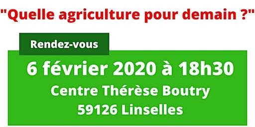 """Conférence : """"Quelle agriculture pour demain ?"""" Marc Dufumier -  Linselles"""
