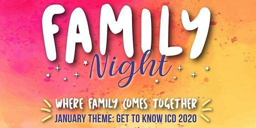 Monthly ICD Family Night: Where Family Comes Together