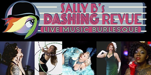 Sally B.'s Dashing Holiday Revue with live music from Swing Theory