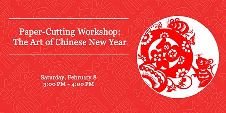 Paper-Cutting Workshop: The Art of Chinese New Year tickets