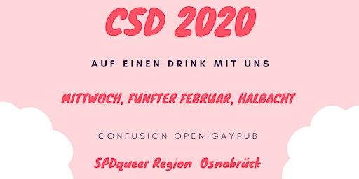 Auf einen Drink mit der SPDqueer!