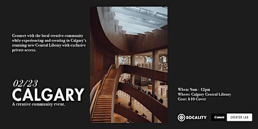 Socality x Canon Creator Lab: Calgary Community Event