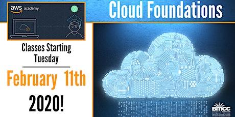 Amazon AWS Academy Cloud Foundations tickets