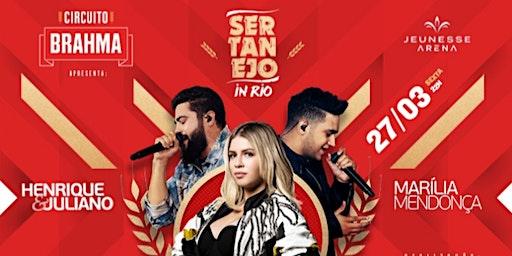 Onibus para SERTANEJO in Rio - Marília Mendonça e Henrique e Juliano