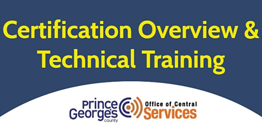 Certification Overview & Technical Training
