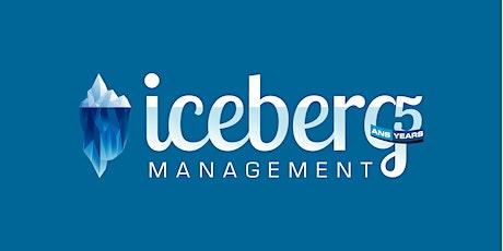 5e anniversaire Iceberg Management billets