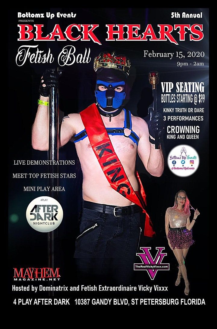 5th Annual Black Hearts Fetish Ball image