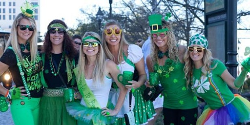 Green Eggs and Hammered! St. Patrick's Day Bar Crawl!