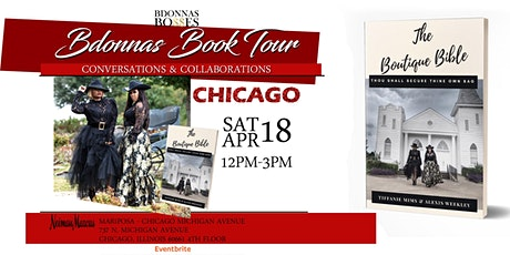 Bdonnas Book Tour: Conversations & Collaborations tickets