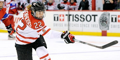 """Hayley Wickenheiser: """"They said 'girls don't skate.' I said, """"Watch this!"""" SPOT #1"""