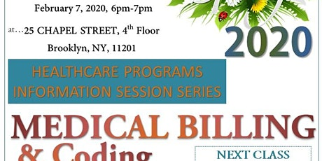 Spring 2020 Free Citytech Healthcare Programs Information Session Series tickets