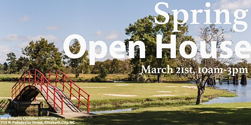 Spring Open House 2020