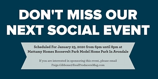 West Valley Real Producers Quarterly Social Event