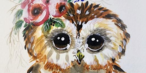 Boho Owl Workshop
