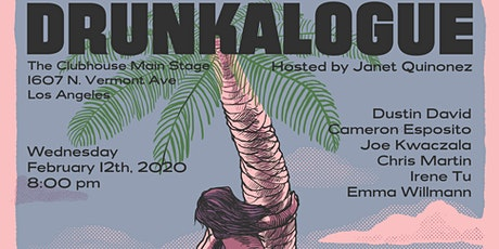 Drunkalogue Comedy Show - Feb 12th - FREE tickets