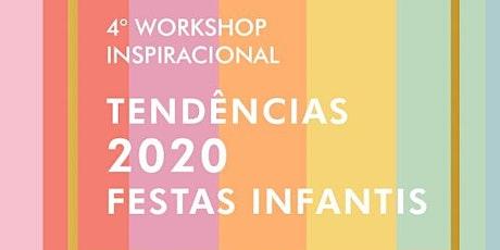 4º Workshop Tendências 2020 ingressos