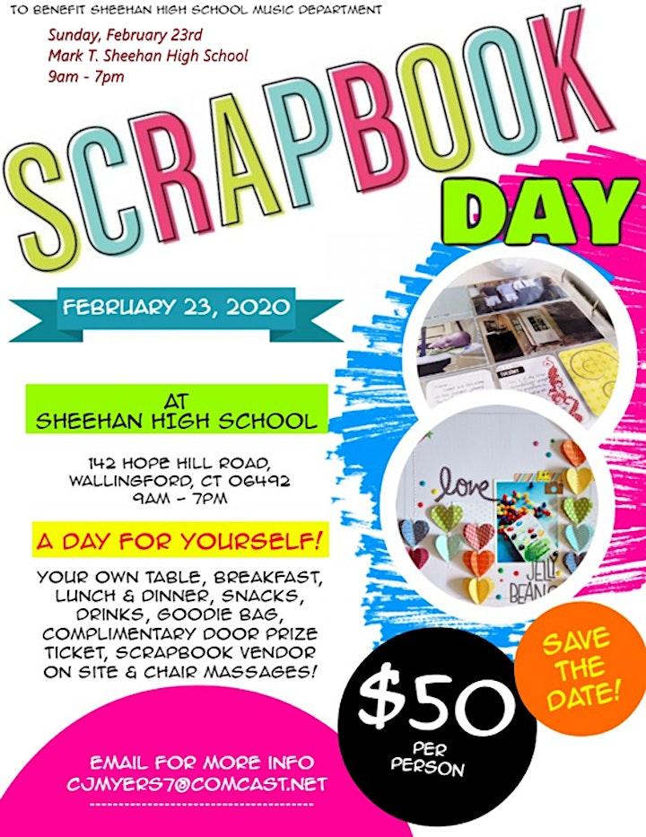 Sheehan High School Scrapbook Day image