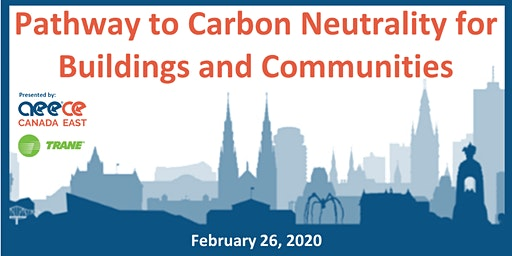 Pathway to Carbon Neutrality for Buildings and Communities