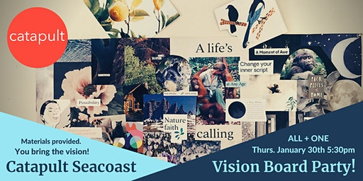 Catapult Vision Board Workshop - All + One