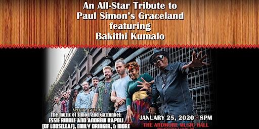 "An Allstar Tribute to Paul Simon's ""Graceland"" ft Bakithi Kumalo"